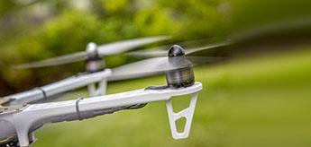 Drohnenflug-Hochzeitsfilm