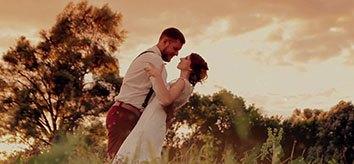 Videoshooting-Hochzeitsvideo
