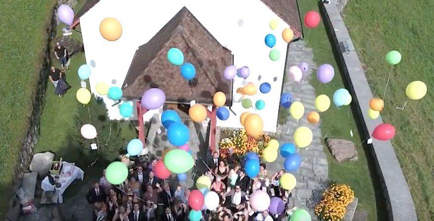 Ihr Hochzeitsfest von Oben: Hochzeitsfilm mit Drohne