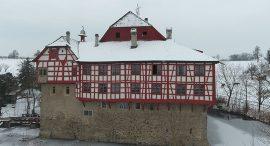 Winterhochzeit im Wasserschloss