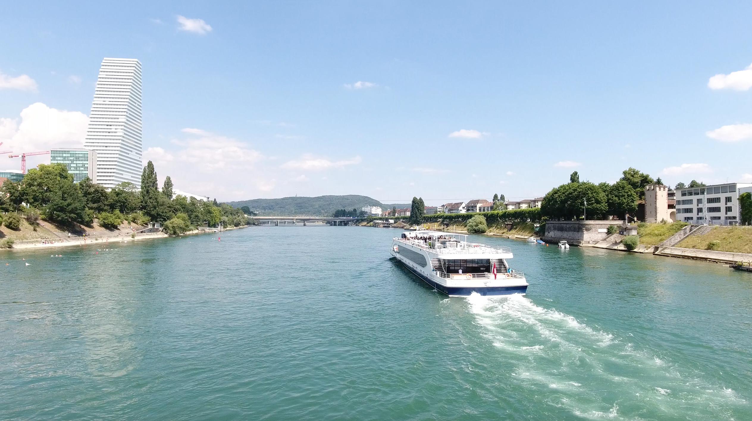 Rhystern Basel, Rhein